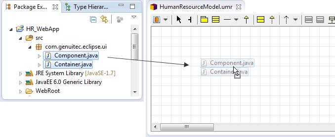 UML Drag Start